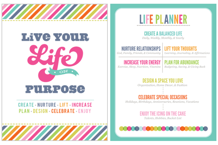 Planner-love: printables for organizing your blogger and social.