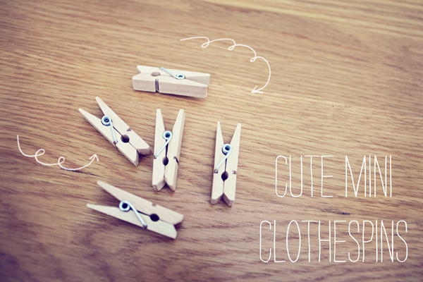 clothespins