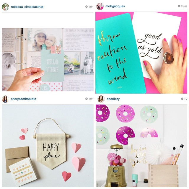 Another #FollowFriday! Love these IG feeds! @rebecca_simpleasthat @mollyjacques @sharptoothstudio @dearlizzy