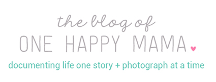 One Happy Mama | a life of happiness and craftiness