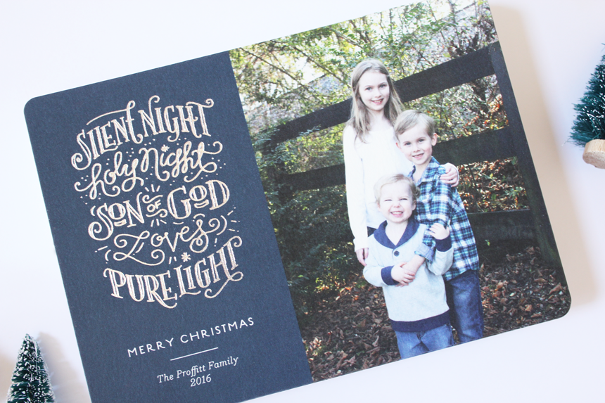 Christmas cards by Minted + $100 Minted Credit Giveaway - One Happy Mama