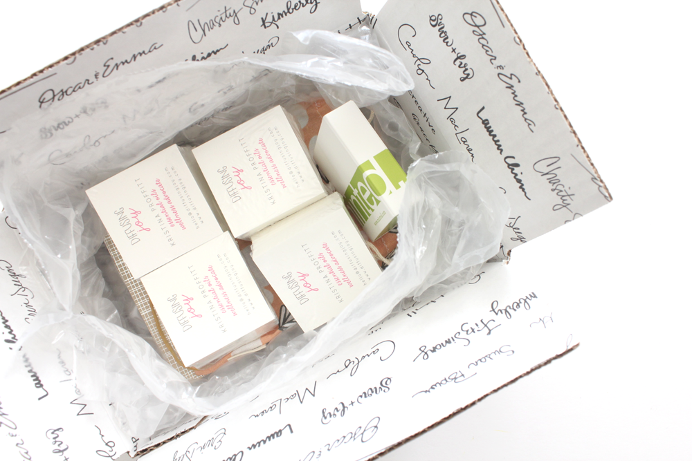 Diffusing Joy Business Cards from Minted - One Happy Mama